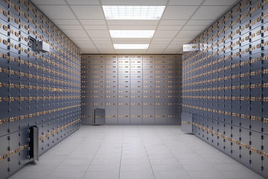 שמירת כספי הלוואה בחדר כספות